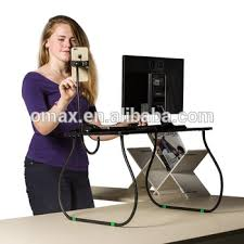 new arrive standing up desk folding standing table standing