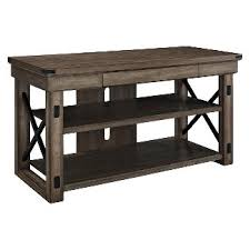 distressed tv stands u0026 entertainment centers target