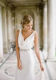 flowing wedding dresses 30 beautiful and flowing silk wedding dresses happywedd com