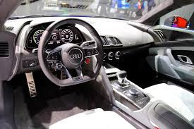 newcarreport 2017 audi r8 interior new car report pinterest