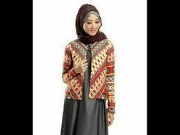 blazer wanita muslimah modern style model blazer wanita muslim desain modis dan modern terbaru