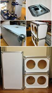 diy custom 2x12 guitar speaker cabinets amplifiers pinterest