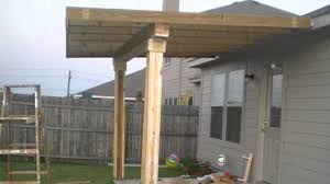 Diy Awnings For Decks How To Build A Patio Cover Attached To House Home Outdoor Decoration