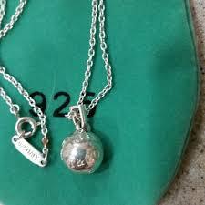 charm necklace tiffany images Tiffany co sterling silver vintage charm necklace sterling jpg