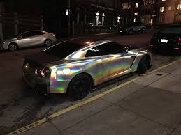 nissan gtr day hire saw a nissan gtr in pearlescent chrome album on imgur