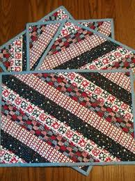 scrappy quilted placemats quilts