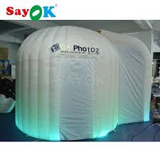 Inflatable Photo Booth Online Shop Free Delivery Inflatable Photo Booth With 2 Doors U0026free