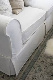 How To Clean Linen Sofa How To Make A Sectional Slipcover Confessions Of A Serial Do It