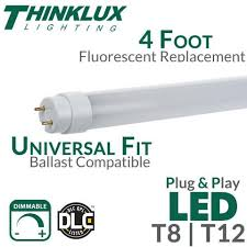 18 inch fluorescent light led replacement dimmable t8 ballast led replacement for t12 fluorescent tube led