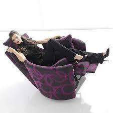 Recliner Swivel Chair Reclining Swivel Chairs Darlings Of Chelsea S Dorota Fabric