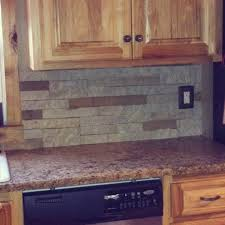 Backsplash For Kitchen Lowes Decorating Wooden Kitchen Cabinet With Oven And Countertop Plus