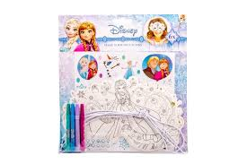 mask coloring book frozen