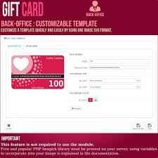 gift card advanced solution prestashop addons