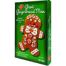 Cookie Decorating Kits Amazon Com Create A Treat Giant Gingerbread Man Cookie Kit