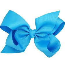 blue bows vali blue big bow hair clip hair bows accessories pretty