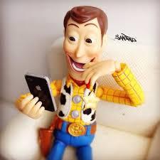 fotos inusitadas woody toy story instagram humor
