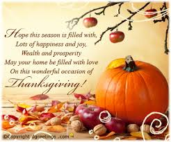 send thanksgiving wishes to write in a card dgreetings