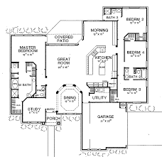 9 new 4 bedroom home plans traditional country home floor plan