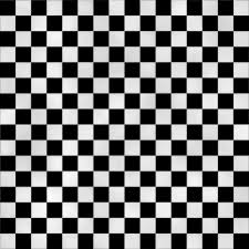 black and white checkered floor home design