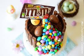 cuisine de paques le gravity cake gâteau de pâques au chocolat le cuisine de samar