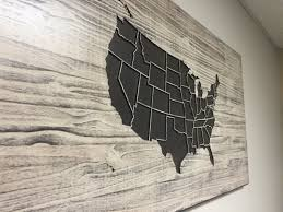 wooden us map wall art wood carved united states map with states wooden us map wall art wood carved united states map with states home