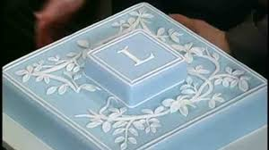 video monogrammed cupcake cake for weddings martha stewart weddings