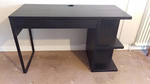 Ikea Office Desks Uk Ikea Desk Micke Black Brown Vgc Office Furniture Equipment