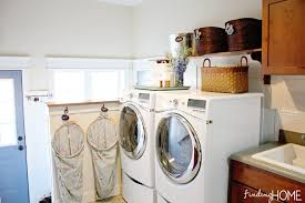 How To Decorate Your Laundry Room Our Mudroom And Laundry Room Finding Home Farms