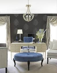 posh home interior feminine home office designs and how to pull it
