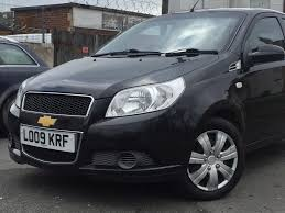 2009 09 chevrolet aveo ls 1 2 5 doors black 100 hpi clear