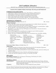 technical resume format prepress manager resume best of lab technician resume format
