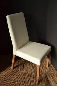 chaise cuir blanc chaise cuir blanc simple size of cuir et bois salle a manger