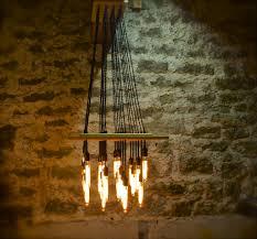 Industrial Chandelier Lighting Exceptional Urban Industrial Chandelier Edison Bulb Chandelier