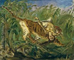 tiger in the jungle 1917 max slevogt reproduction 1st gallery
