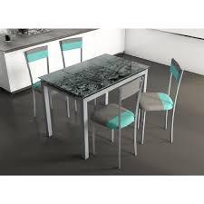 Table De Cuisine En Verre Avec Rallonge by Table Verre Extensible 110 Achat Vente Table Verre Extensible