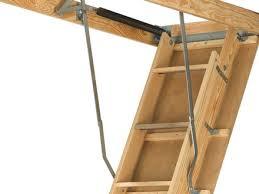 59 folding attic ladder werner aa1510 compact folding telescoping