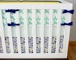 yellow crib bedding etsy