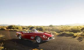 rare ferrari rare ferrari 250 gt lwb california spider to hit the auction block