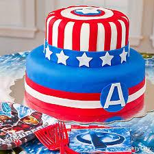 captain america cakes captain america fondant cake how to avenger party