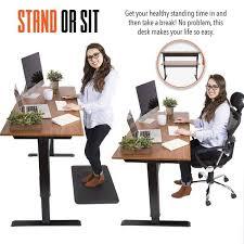 Standing Or Sitting Desk Tranzendesk Air 55 Inch Sized Standing Desk Cherryblack Pneumatic Sit Stand Steady Ss55fsch 489 600x Jpg V 1520438866
