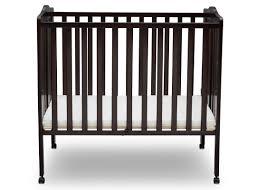 Mini Crib Bed Skirt by Delta Children Portable Mini Crib With Mattress U0026 Reviews Wayfair