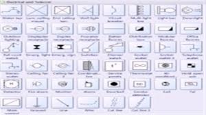 floor plan symbols electrical youtube