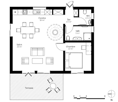 plan maison 70 m avec mezzanine ooreka