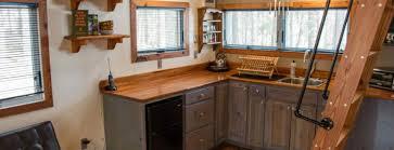 blue kitchen cabinets in cabin evergreen creek lake cabin blue moon rising cabins