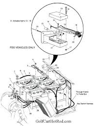 golf cart wheels parts wiring diagram utility carts batteries 1997