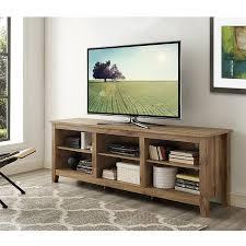 Tv Furniture Amazon Com 70 In Tv Stand In Barn Wood Finish Home Audio U0026 Theater