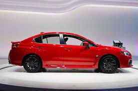 red subaru sedan 2015 subaru wrx first look motor trend