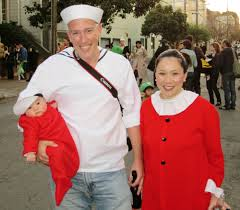 Popeye Olive Halloween Costume Costumes Ugly Bug Ball