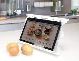 tablette pour recette de cuisine lutrin de cuisine original pour tablette ou livre de recettes