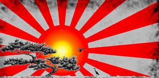 rising sun with bonsai by geoschiss on deviantart